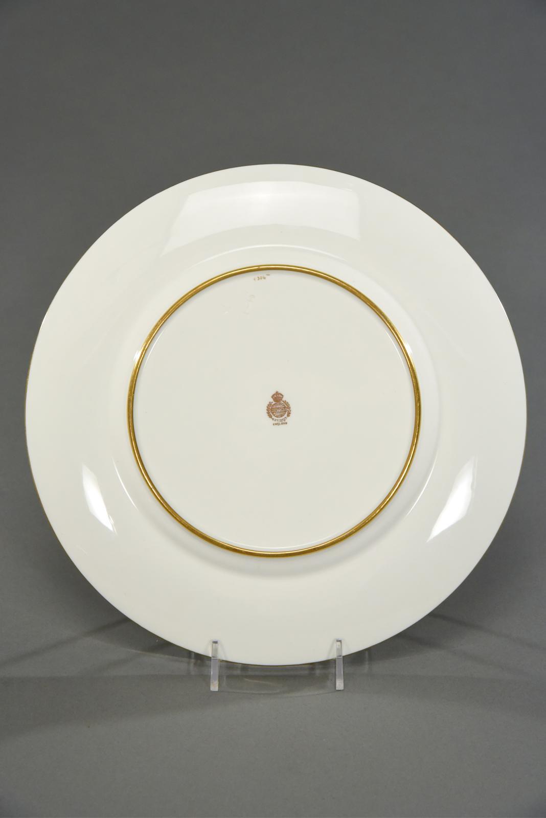 Set of 11 Minton Cream \u0026 Raised Paste Gold Dinner Plates & Set of 11 Minton Cream \u0026 Raised Paste Gold Dinner Plates | Dinner ...