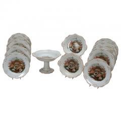 19th C. English Dessert Set With Shells  sc 1 st  Elise Abrams Antiques & Complete Services \u0026 Table Settings | Elise Abrams Antiques